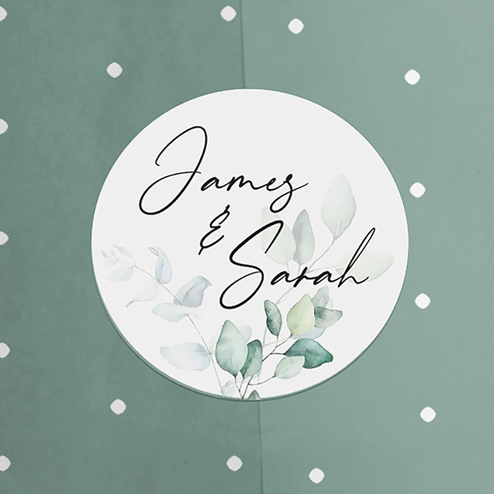 'Dreamy' Pocketfold Wedding Invitation Sample