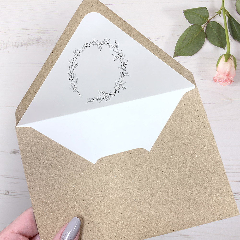 'Elizabeth' Standard Foil Invite