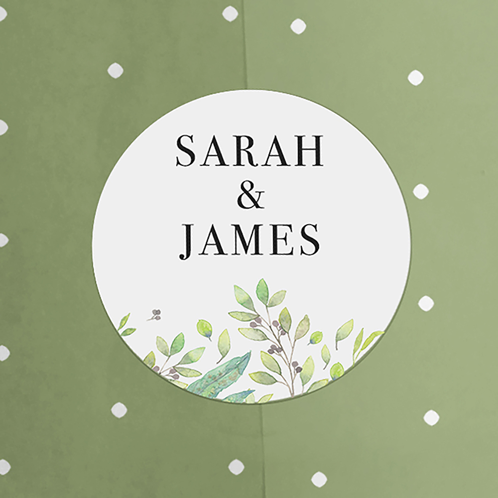 'Imogen Portrait' Save the Date Sample