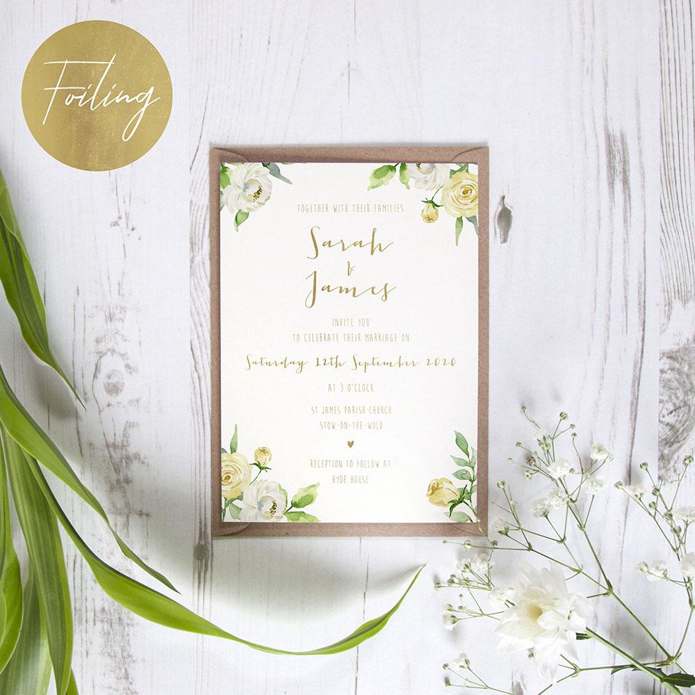 'Daphne' Standard Foil Invite