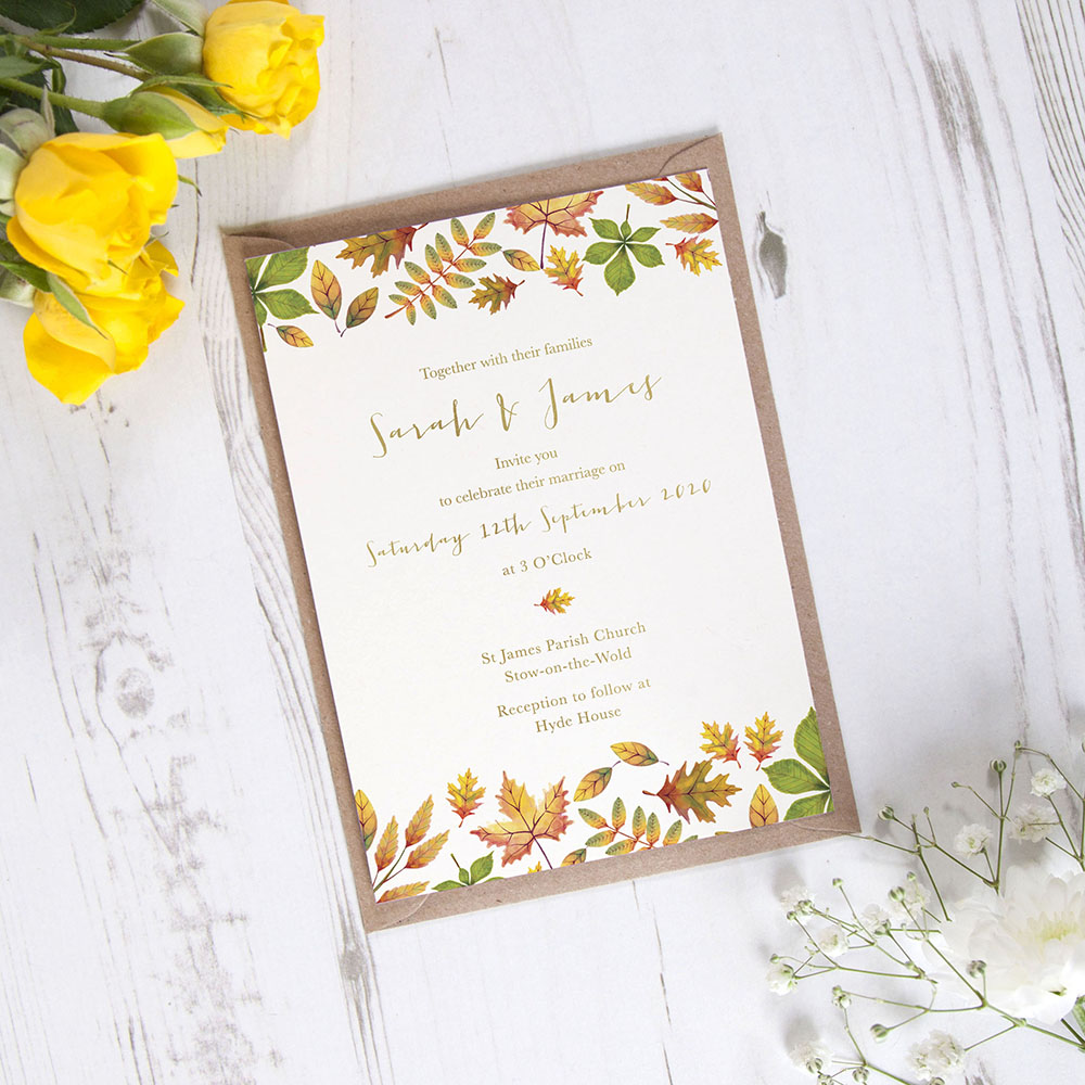 'Dorothy' Standard Foil Invite