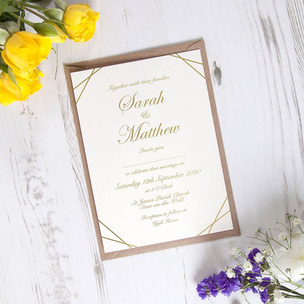 'Matrix' Standard Foil Invite