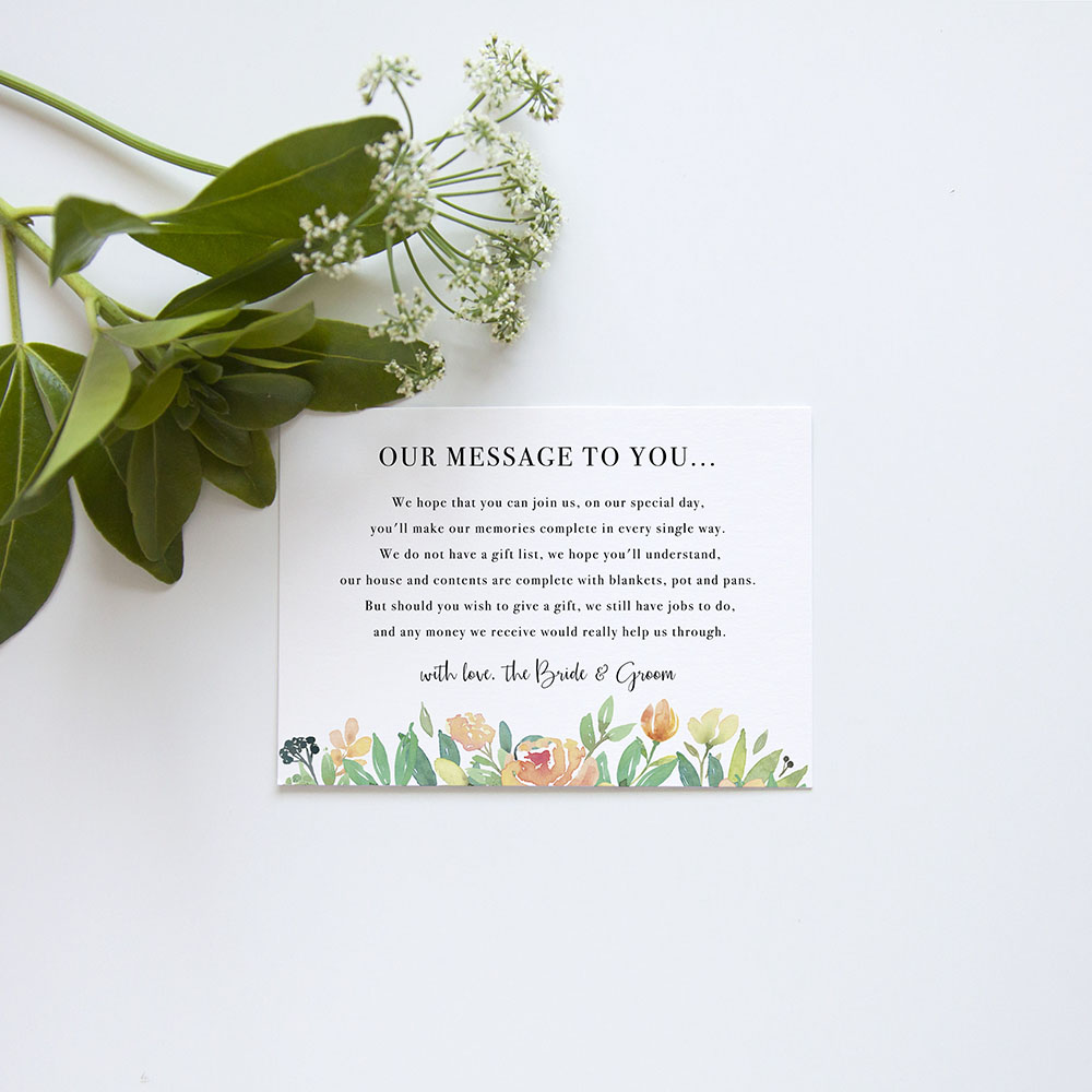 'Bella' Gatefold Invite