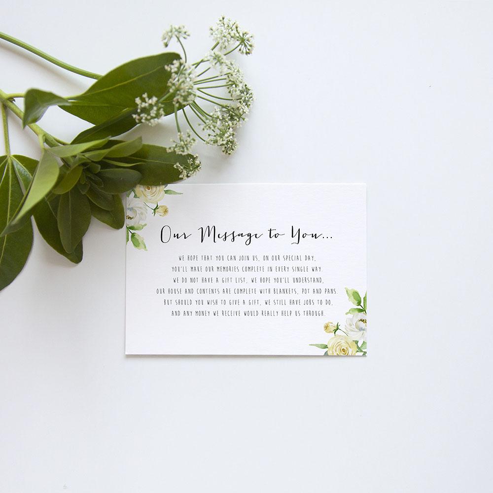 'Daphne' Gatefold Invite