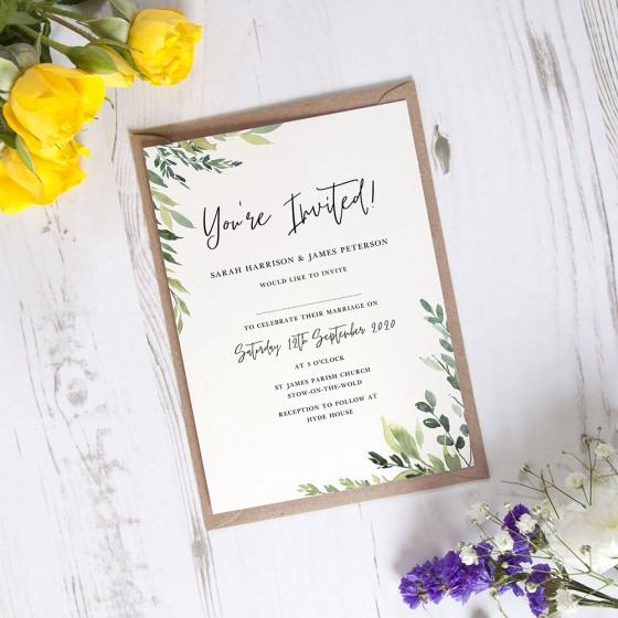 Standard Invite Samples