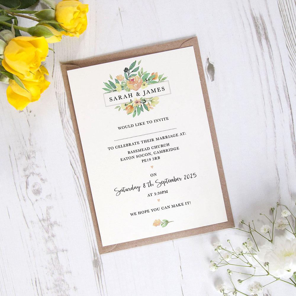 'Bella' Standard Invite Only Sample
