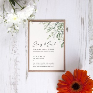 22 Things to Consider Including on Your Wedding Invitations