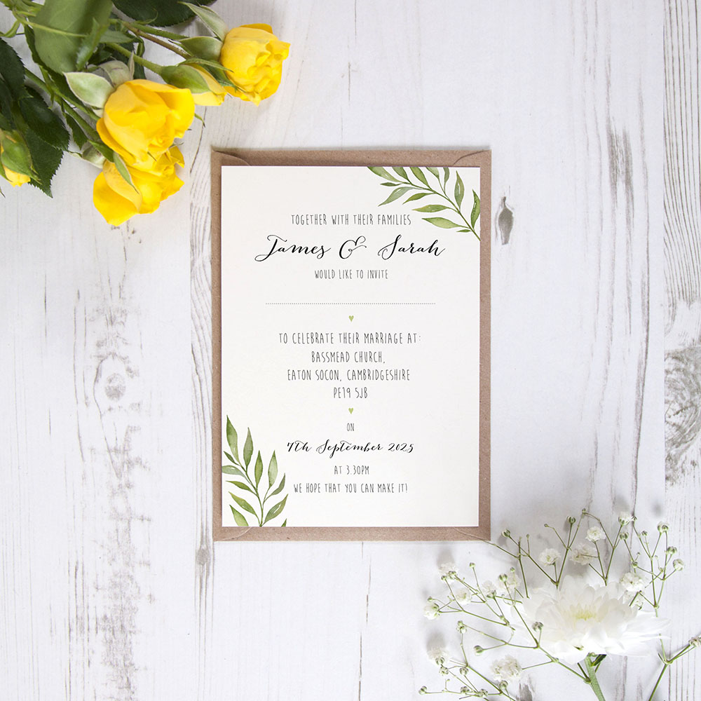 'Green Leaf' Standard Invite Only Sample