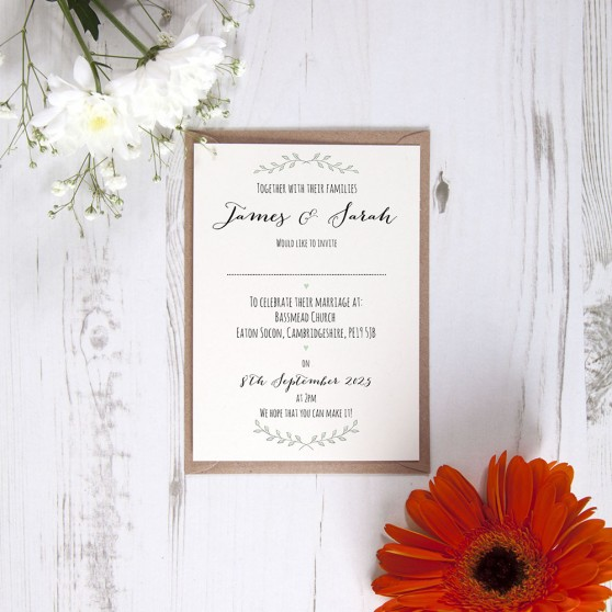 'Green Plant' Standard Invite Only Sample