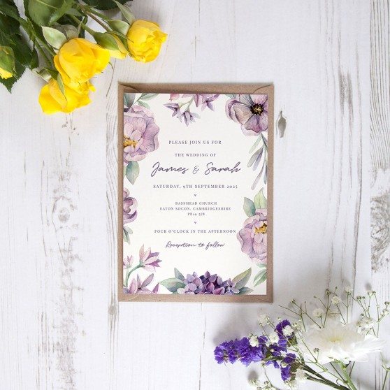 'Henrietta Dawn' Standard Invite Sample