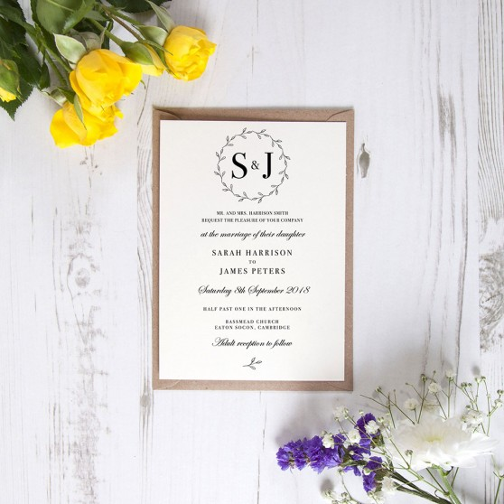 'Josephine' Standard Invite Sample