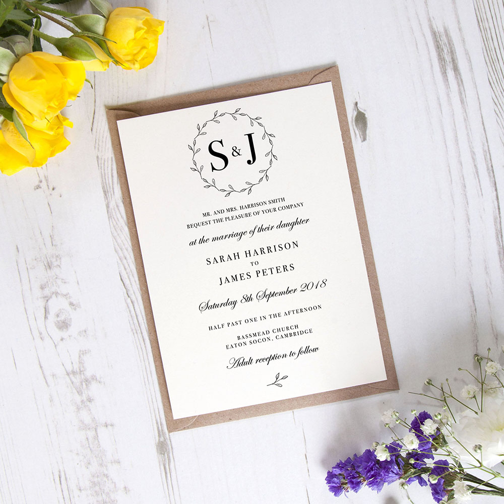 'Josephine' Standard Invite Only Sample