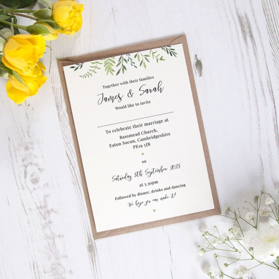 'Libby' Standard Invite Sample