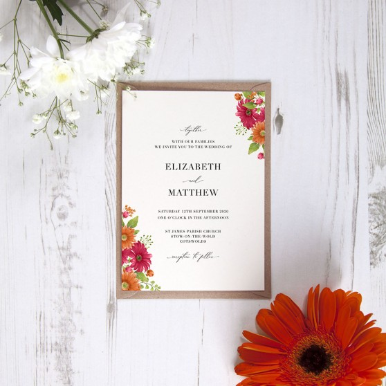 'Matilda' Standard Invite Sample