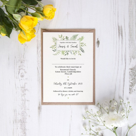 'Ophelia' Standard Invite Only Sample