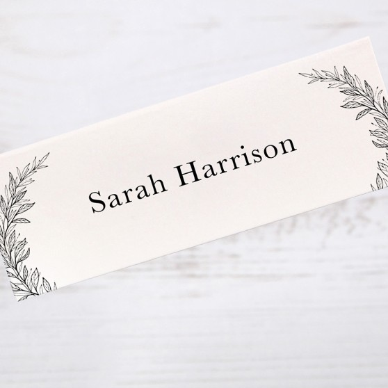 'Alice' Place Card Sample
