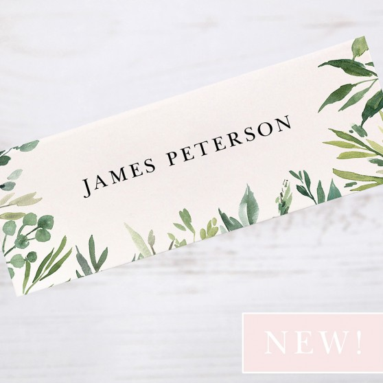 'Back to Nature' Place Cards