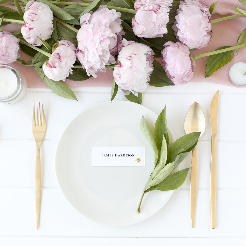 'Bumble Bee' Place Cards