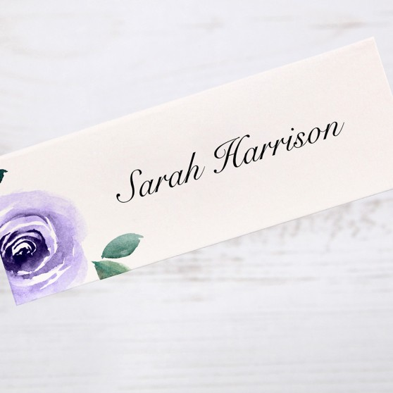 'Camilla' Place Card Sample