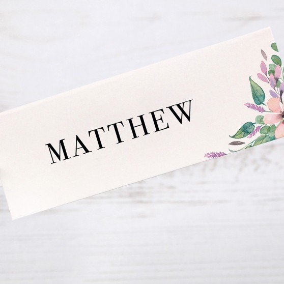 'Chloe' Place Card Sample