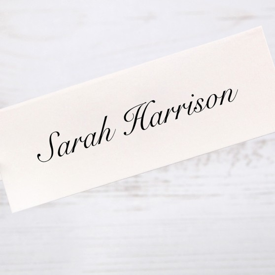 'Royal Classic 18' Place Card Sample