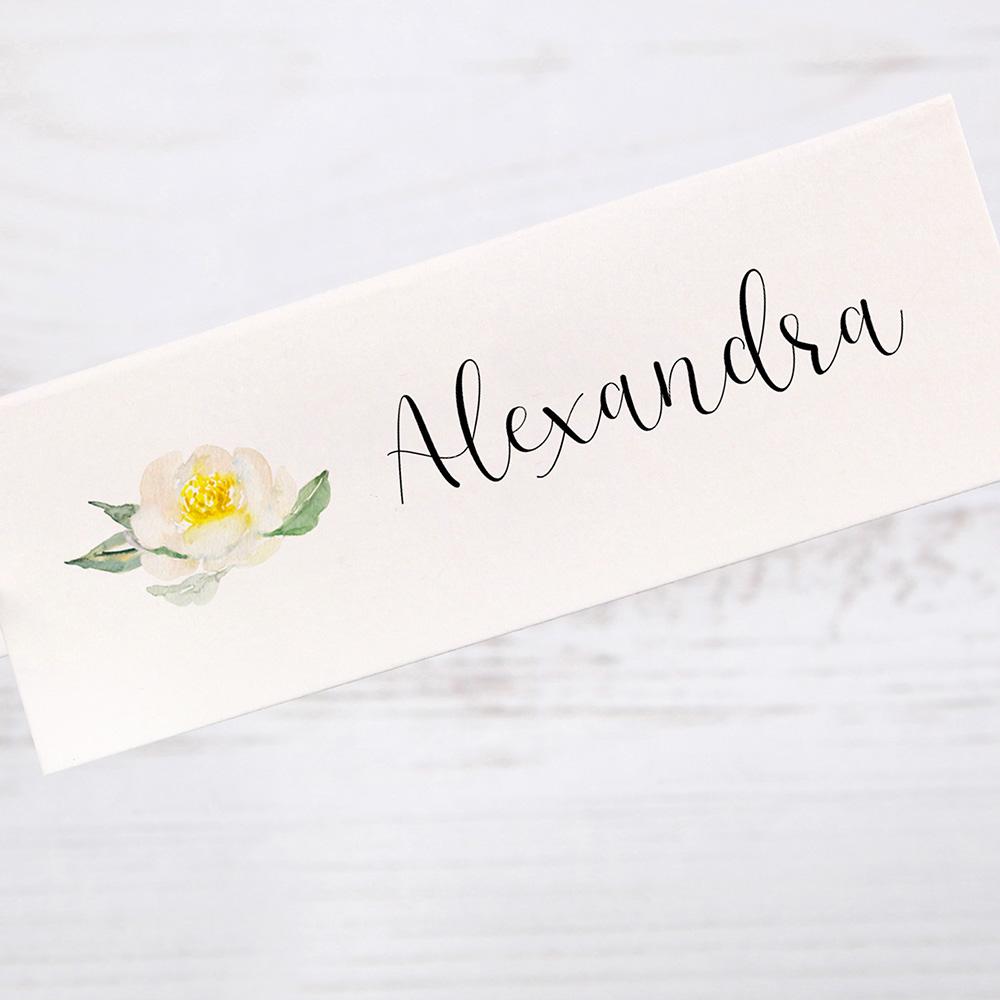 'Dahlia Rose' Place Cards