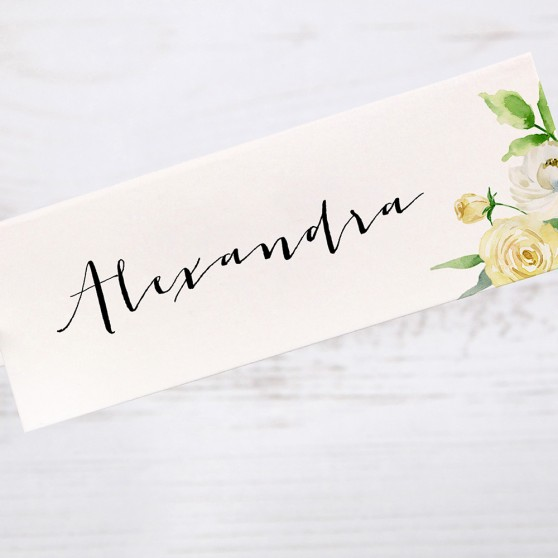 'Daphne' Place Card Sample