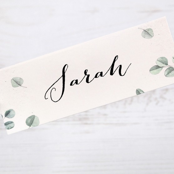 'Eucalyptus' Place Cards