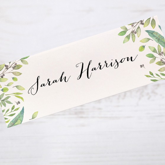 'Imogen' Place Card Sample