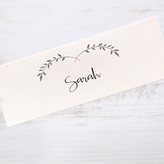 'Pink Ivy Design' Place Cards