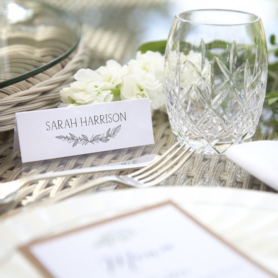 'Jessica' Place Card Sample