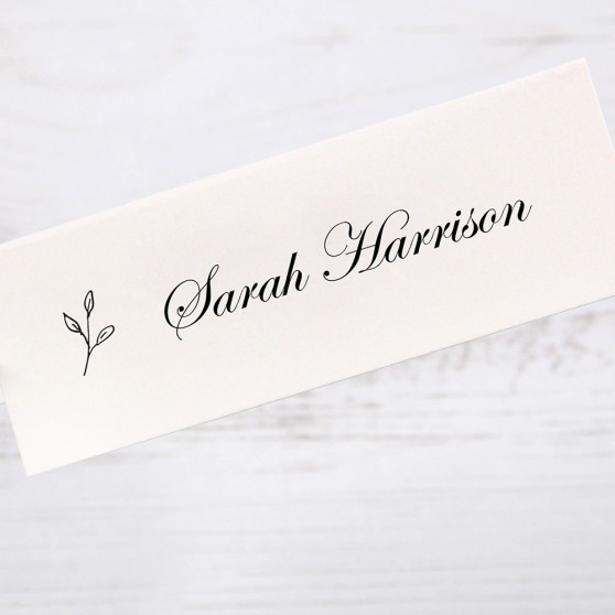 'Josephine' Place Card Sample