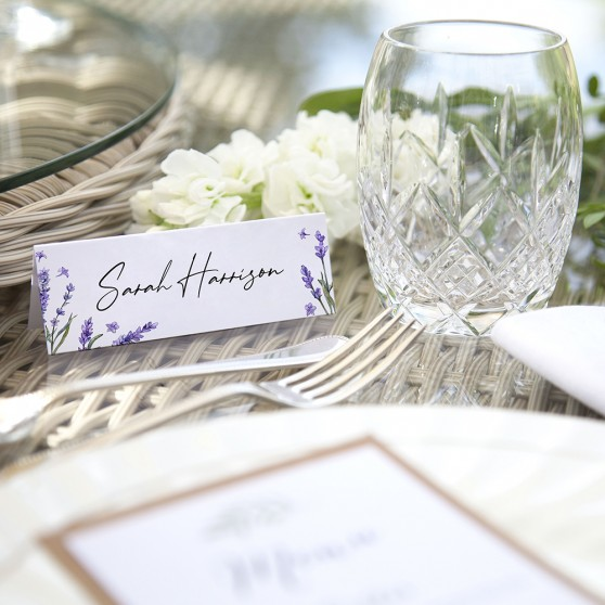 'Lavender' Place Cards