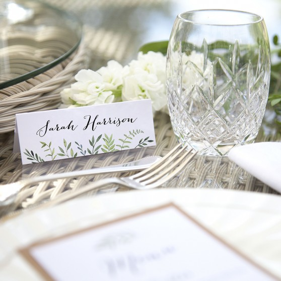'Libby' Place Card Sample