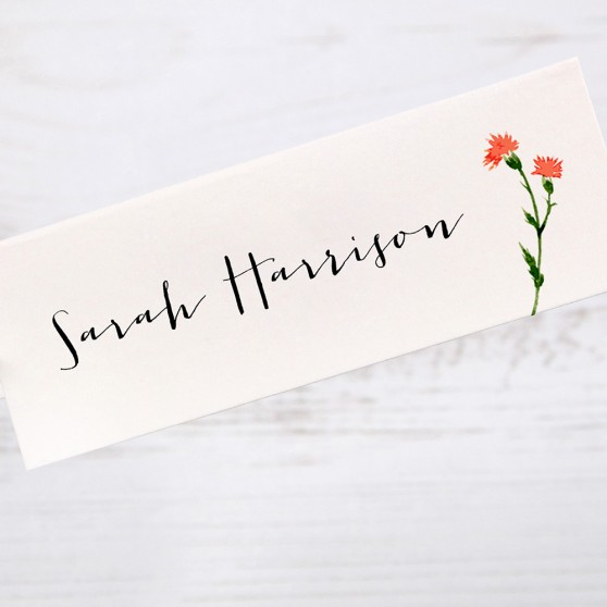 'Meadow Floral' Place Cards