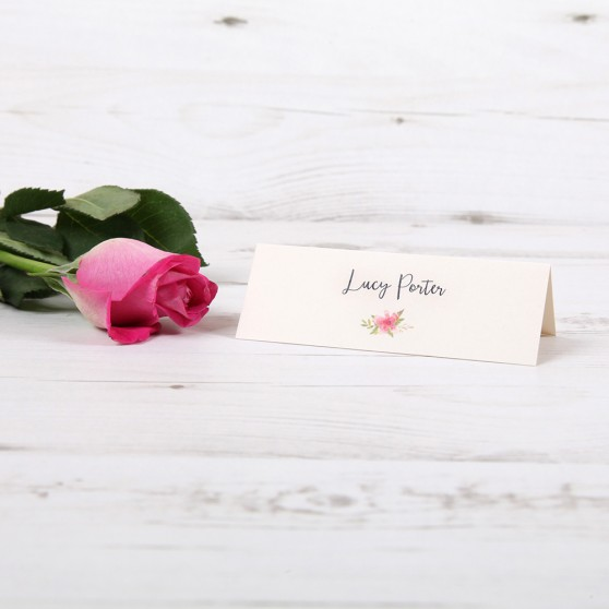 'Multi Floral (B)' Place Card Sample