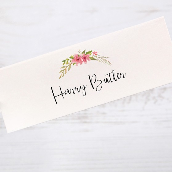'Multi Floral (T)' Place Cards