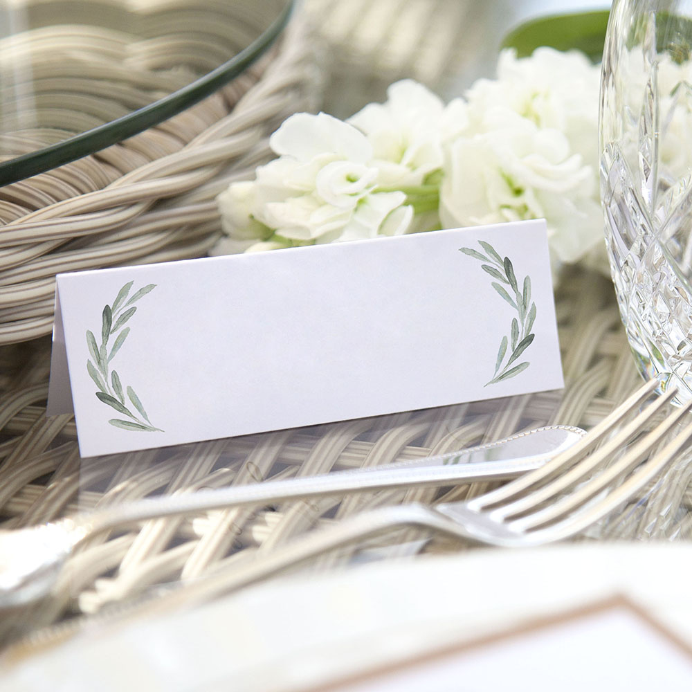 'Olive' Place Cards