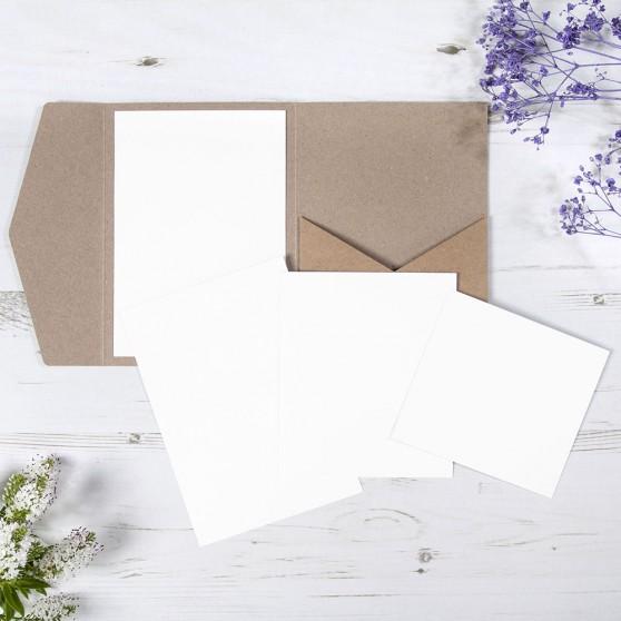'Any Design' Pocketfold Wedding Invitation