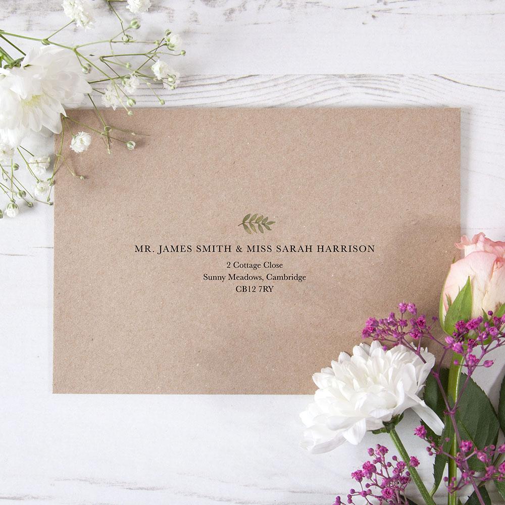 'Arabella' RSVP Envelopes