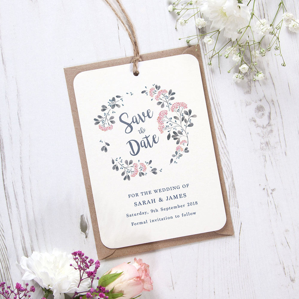 'Felicity' Hole-punched Save the Date