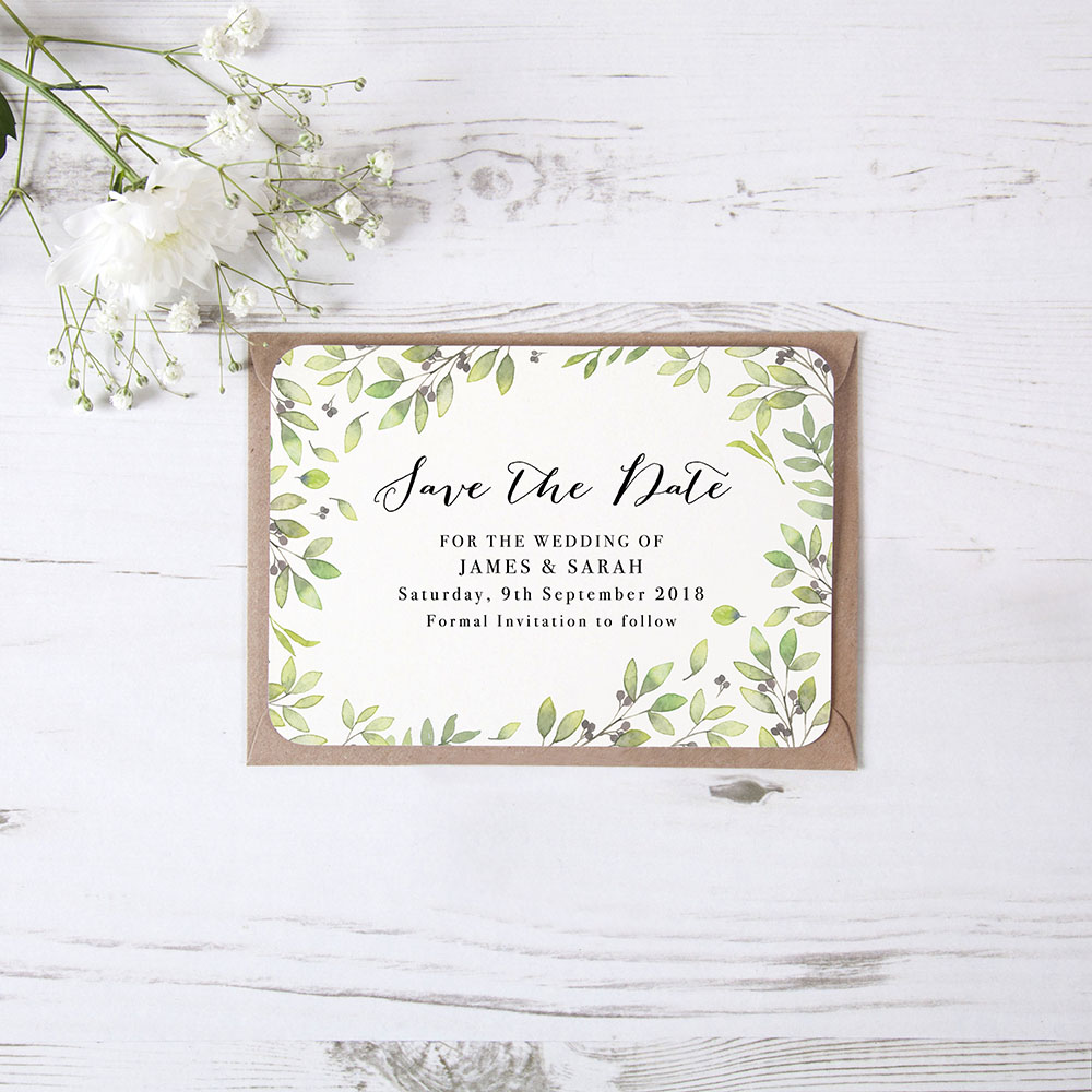 'Arabella' Save the Date Sample