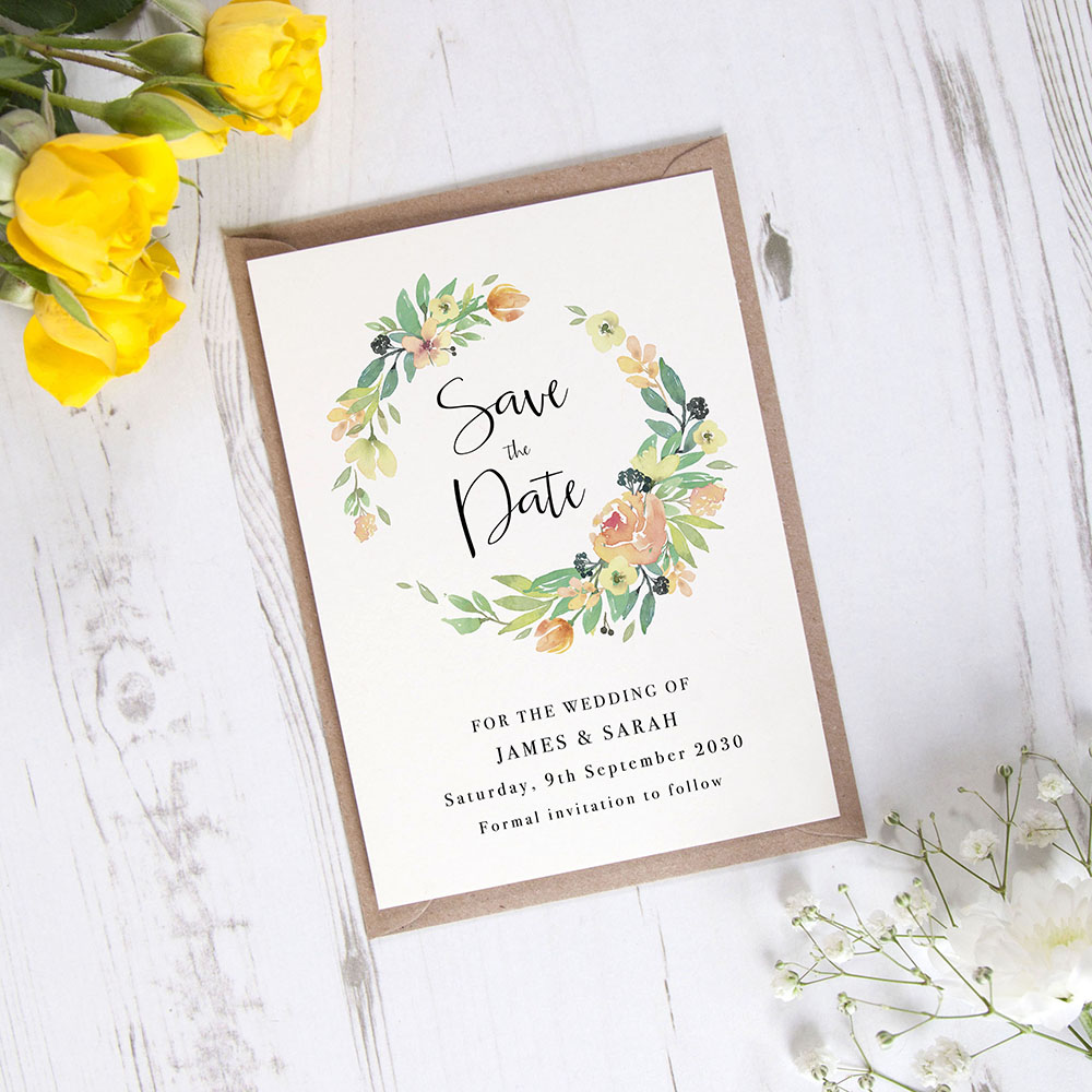 'Bella' Save the Date Sample