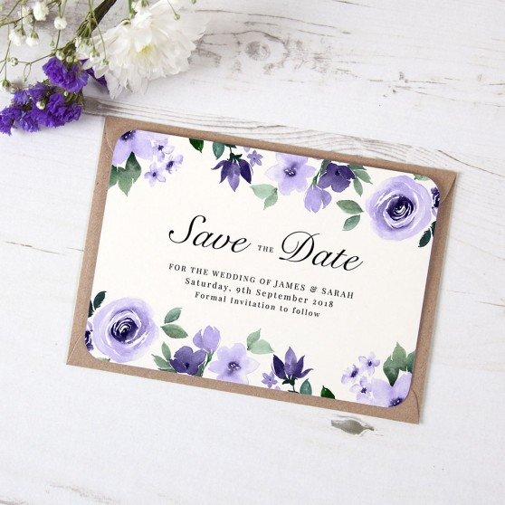 'Camilla' Save the Date Sample