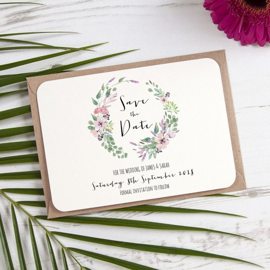 'Chloe' Save the Date Sample