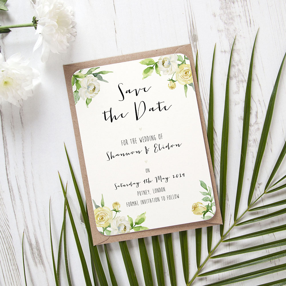 'Daphne' Save the Date Sample