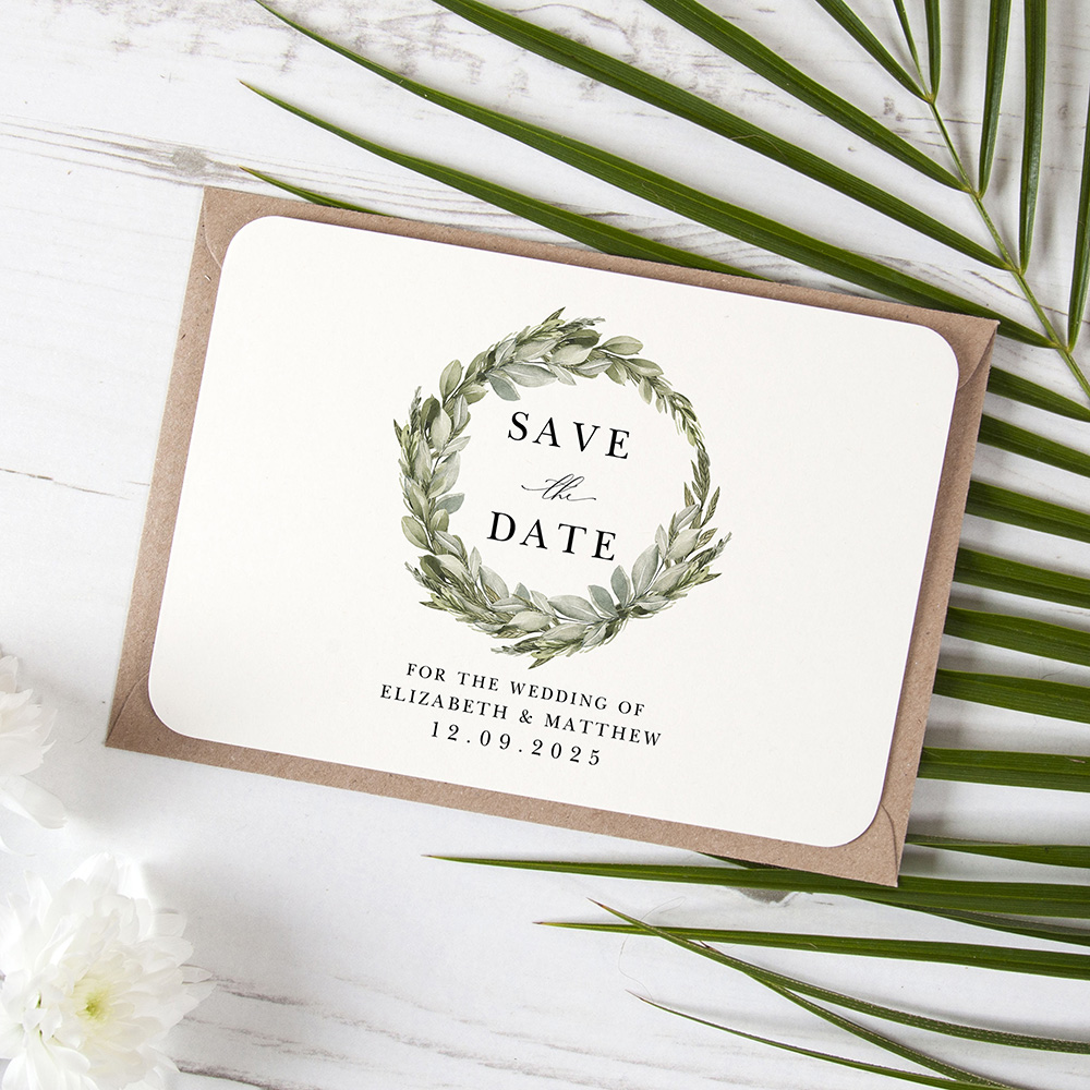 'Elegance' Save the Date