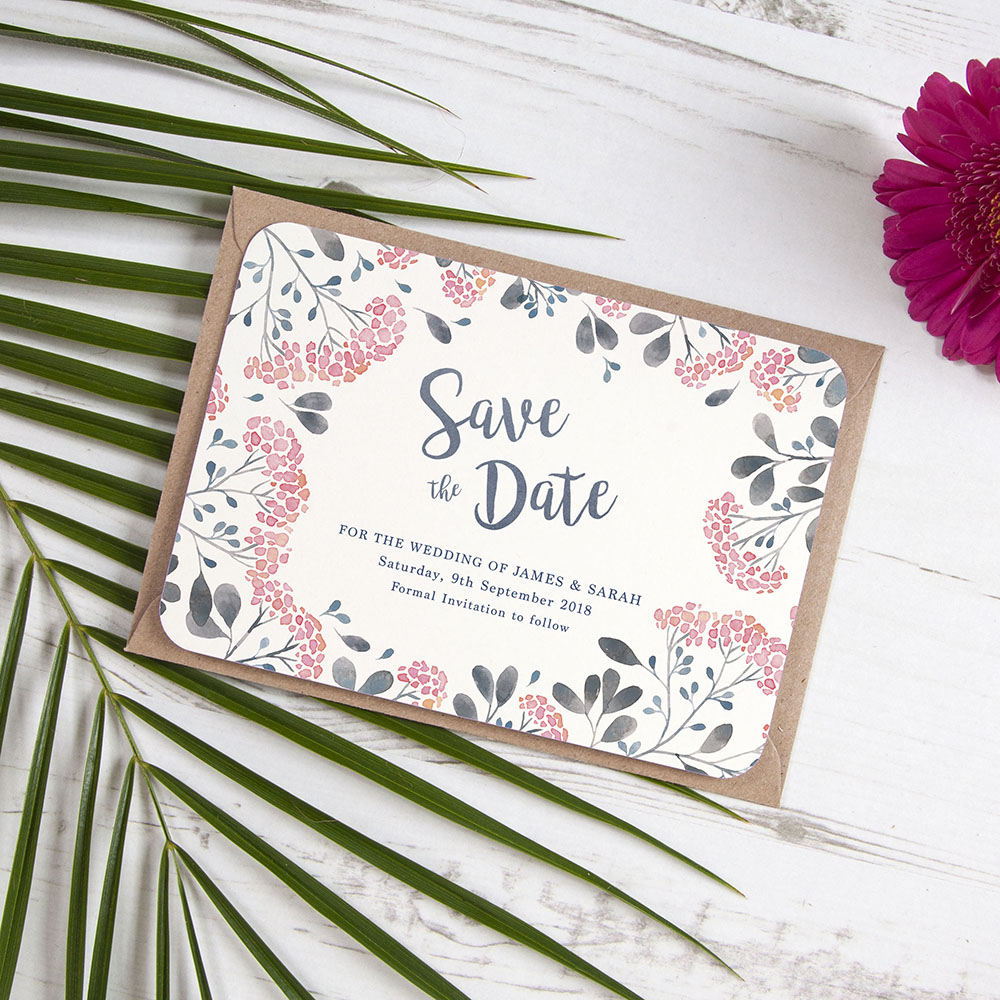 'Multi Felicity' Save the Date Sample