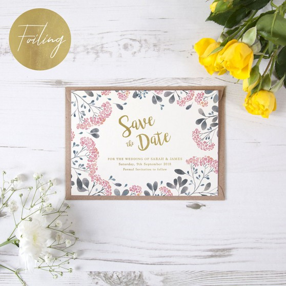 'Multi Felicity' Foil Save the Date