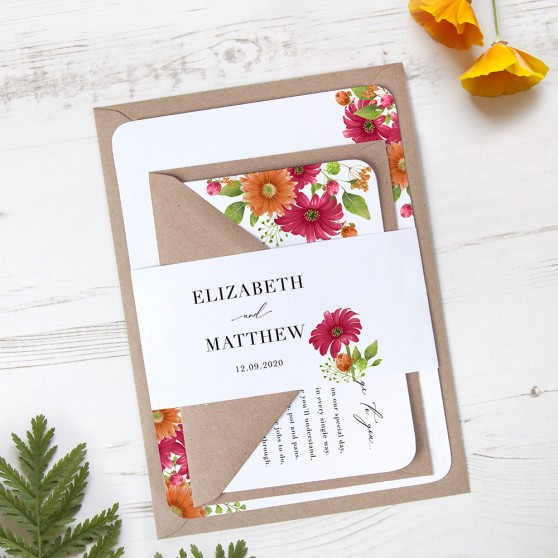 'Matilda' Sleeve Invite
